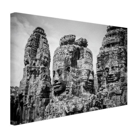 Bayon Tempel met Buddhas Canvas