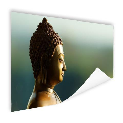 Boeddha beeld fotoprint Poster
