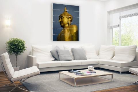 Reuze Boeddha Chiang Mai Hout