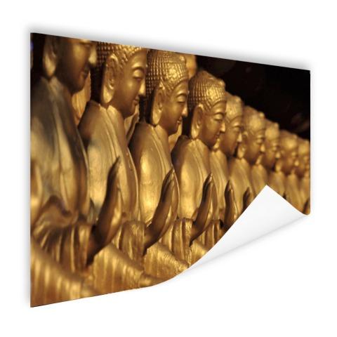 Buddhas op een rij Poster