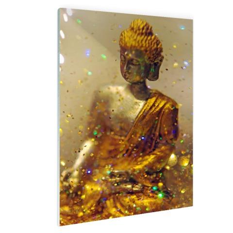Glinsterende Boeddha Glas