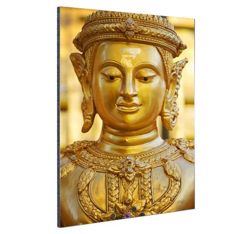 Gouden Boeddha in Chiang Mai Thailand Aluminium