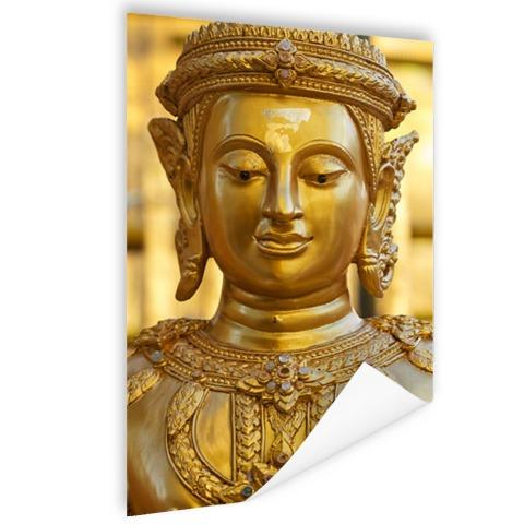 Gouden Boeddha in Chiang Mai Thailand Poster