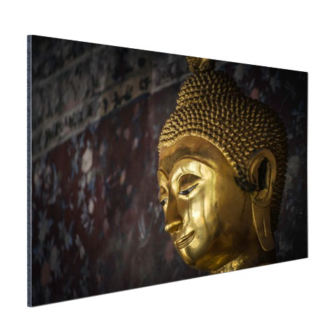 Gouden boeddha standbeeld Thailand Aluminium
