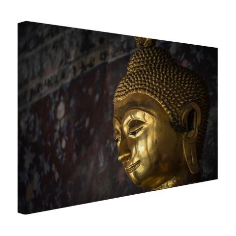 Gouden boeddha standbeeld Thailand Canvas