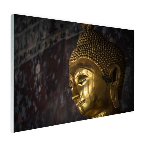 Gouden boeddha standbeeld Thailand Glas