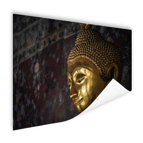 Gouden boeddha standbeeld Thailand Poster