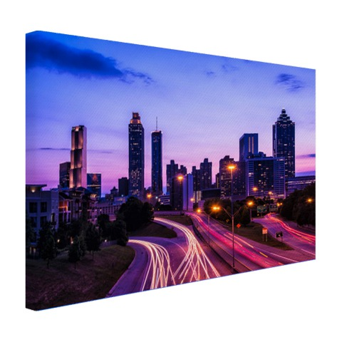 Atlanta skyline wanddecoratie