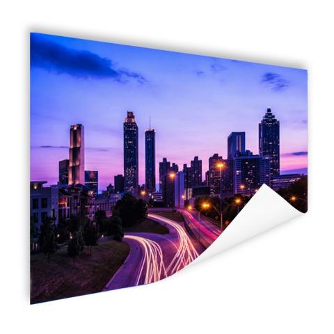 Atlanta skyline wanddecoratie