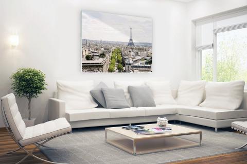 Parijs skyline Glas