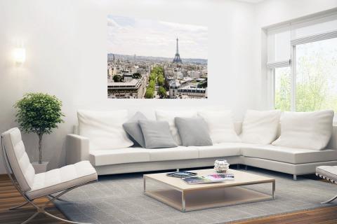 Parijs skyline Poster