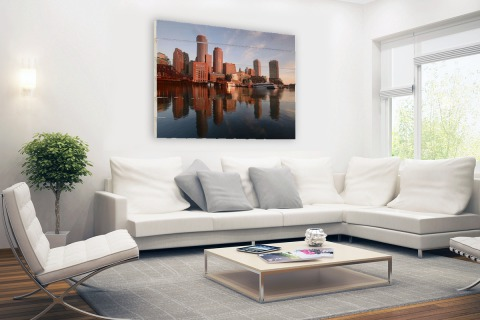 Skyline Boston Hout