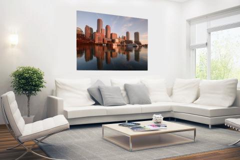 Skyline Boston Poster