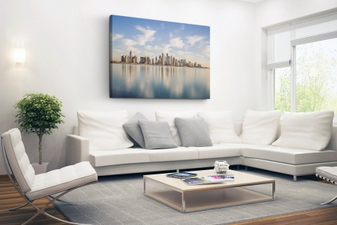 Skyline Doha Canvas