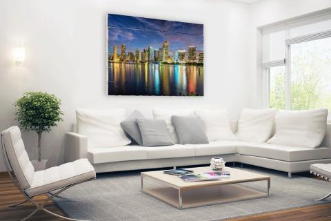 Skyline Miami Hout