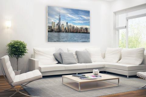 Skyline New York Hout