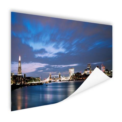 Londen skyline in de avond muurdecoratie