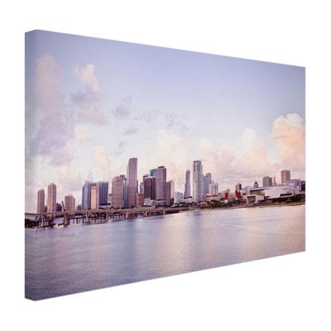Miami skyline foto print