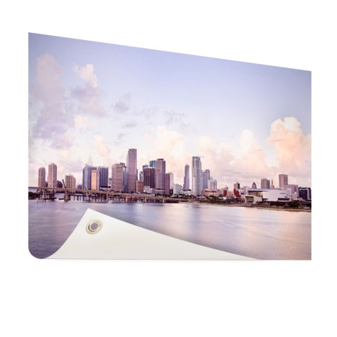 Miami skyline tuindecoratie