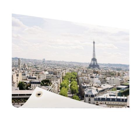 Parijs skyline tuindecoratie