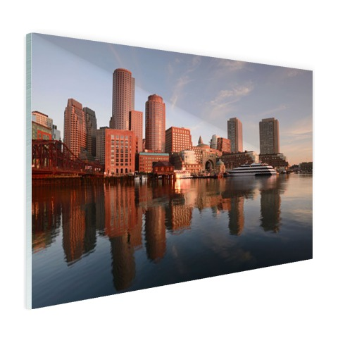 Skyline Boston foto print