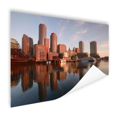 Skyline Boston foto print