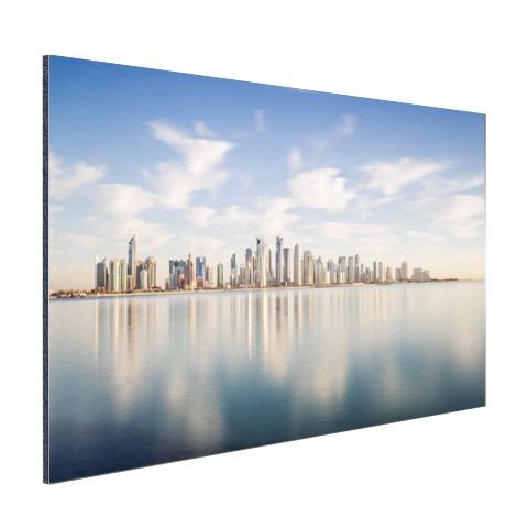Skyline Doha muurdecoratie