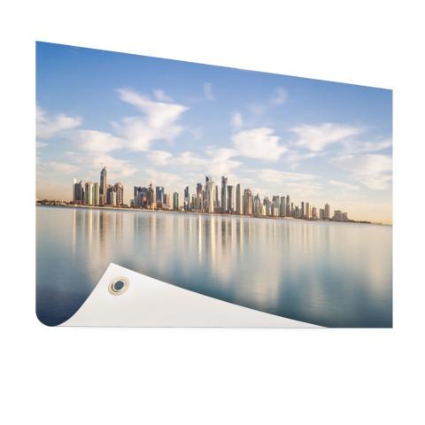 Skyline Doha tuindecoratie