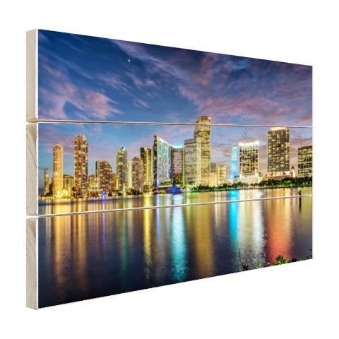 Skyline Miami foto print