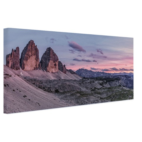 Panoramafoto Dolomieten op canvas