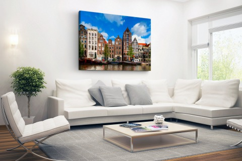 Herengracht in Amsterdam Canvas