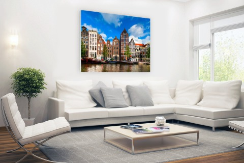 Herengracht in Amsterdam Glas