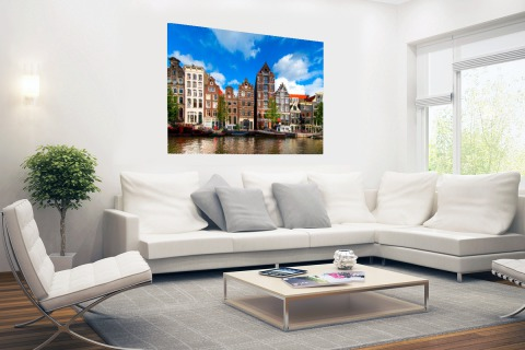 Herengracht in Amsterdam Poster