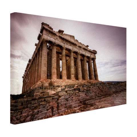 Het Parthenon Canvas