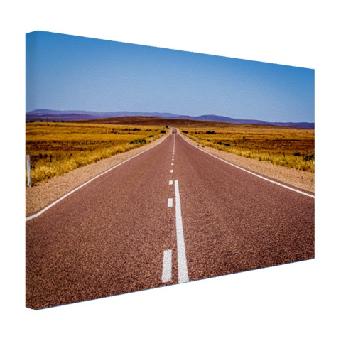 Weg Australie fotoprint Canvas