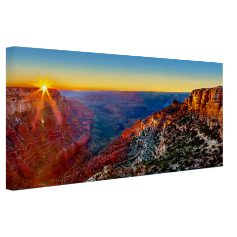 Grand Canyon National Park zonsondergang Canvas