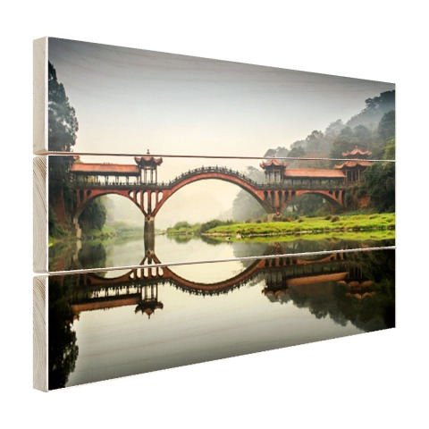 Chinese brug Hout