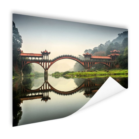 Chinese brug Poster