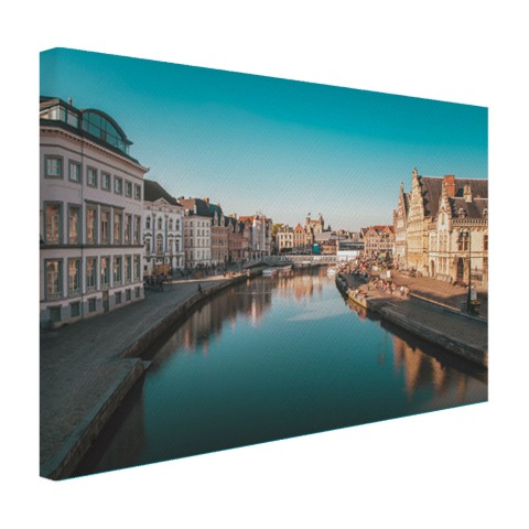 Stad in Europa Canvas