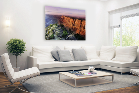 Grand Canyon Arizona fotoprint Hout
