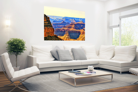 Uitizicht over Grand Canyon Poster