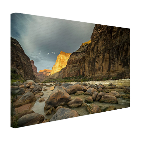 Colorado River Grand Canyon op canvas