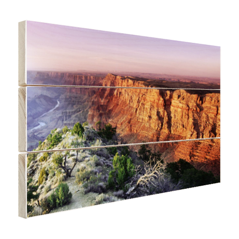 Grand Canyon Arizona hout fotoprint