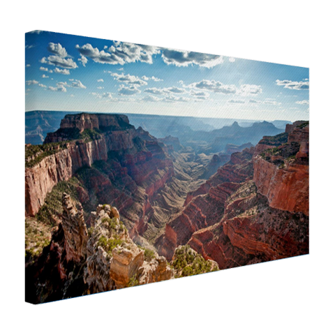 Cape Royal Grand Canyon fotoprint op canvas