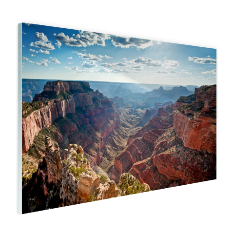 Glasplaat fotoprint Cape Royal Grand Canyon