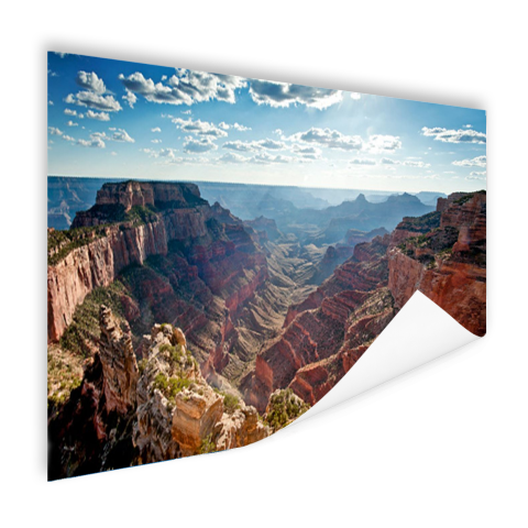 Poster fotoprint Grand Canyon Cape Royal