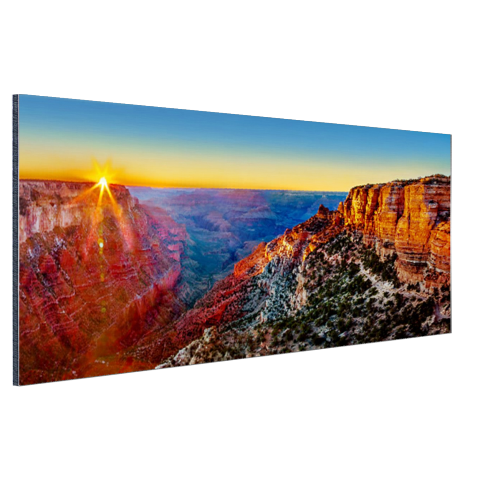 Aluminium foto print Grand Canyon National Park zonsondergang