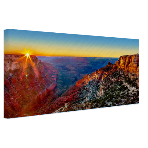 Grand Canyon National Park zonsondergang op canvas