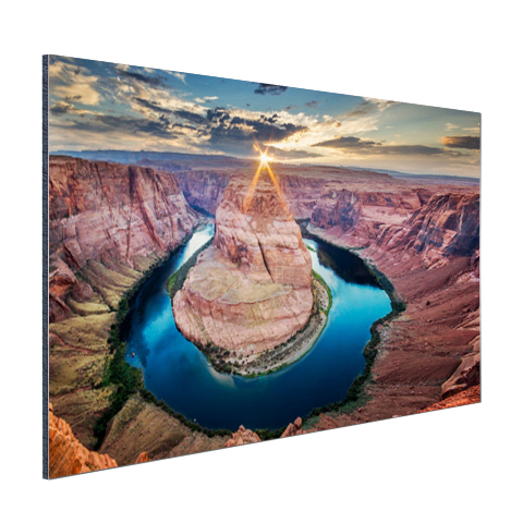 Aluminium plaat Horseshoe Bend fotoprint Grand Canyon