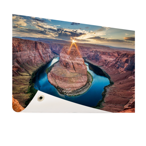 Tuinposter Grand Canyon Horseshoe Bend fotoprint